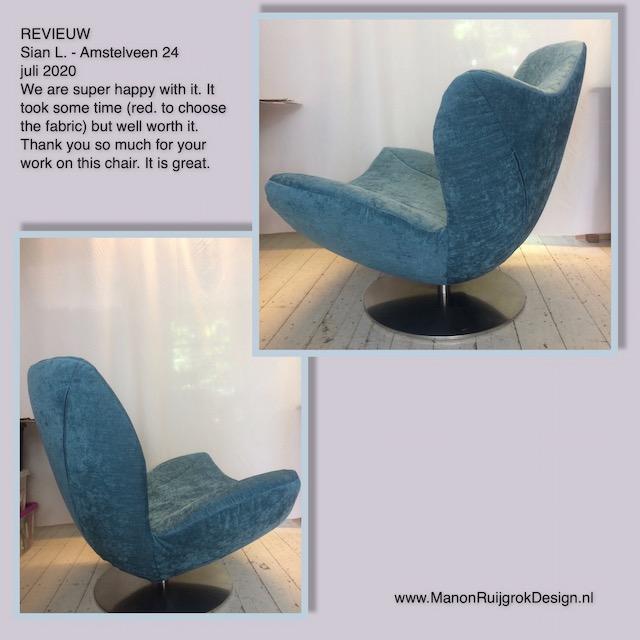 Esprit Wave meubelstoffering ManonRuijgrokDesign Amstelveen